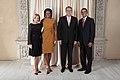 Valdis Zatlers with Obamas.jpg
