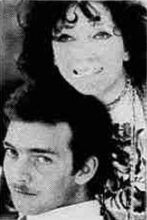 Jackie Basehart - Jackie Basehart and Valentina Cortese, 1975.