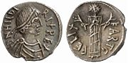 Vandal Kingdom Hilderic Denarius