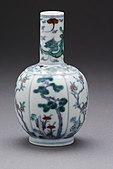 Vase (Ping) in the Form of a Mellon with Pine, Bamboo, Plum, Camellia, and Dragon LACMA M.71.65.8.jpg
