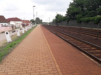 How to get to Vecsés-Kertekalja with public transit - About the place