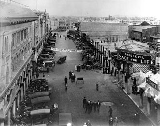 Venice, Los Angeles - Windward Avenue, 1913