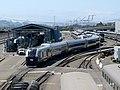 Venture test train at Oakland Maintenance Facility (2), July 2020.JPG