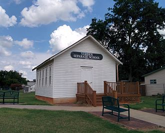 Chickasha, Oklahoma - Verden Separate School in Chickasha