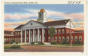 Dublin, Georgia - Veterans Administration building