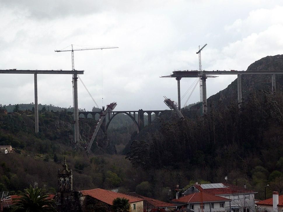 Viaducto de Alta Velocidad sobre el río Ulla2