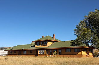 National Register of Historic Places listings in Teton County, Idaho - Image: Victor Depot