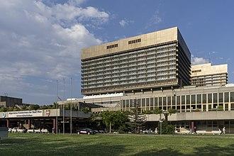 Vienna General Hospital - AKH main entrance