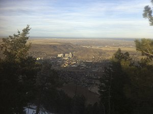 Lookout Mountain (Colorado) - View From Top of Lookout Mountain, CO