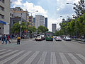 View W along Avenida Juarez from front of Palacio de Bellas Artes.jpg