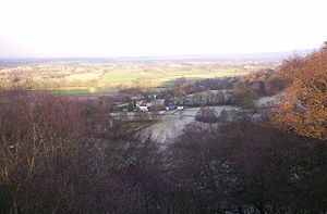 View from the Edge. Alderley Edge: the Pennine...