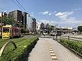 View of Kagoshima-Ekimae Station and Kagoshima Station.jpg