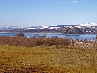 Bishopton, Renfrewshire - View over the River Clyde from just west of Bishopton