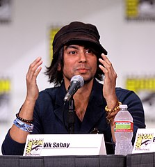Sahay na Comic-Con International w San Diego (2011).