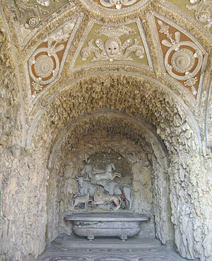 Niccolò Tribolo - Grotto of animals by Giambologna in the Villa di Castello, Florence