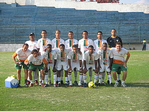 Villa Rio Esporte Clube - Team photo from the 2007 season