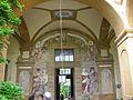 Villa il riposo, affreschi di santi di tito 01.JPG