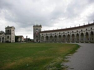 Villa Manin - The exedra