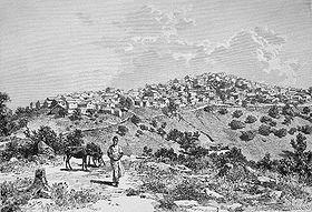 Un village typique kabyle.