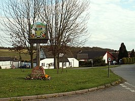 Village sign, Stanstead, Suffolk - geograph.org.uk - 164645.jpg