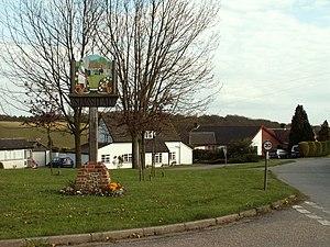 Stanstead, Suffolk - Image: Village sign, Stanstead, Suffolk geograph.org.uk 164645