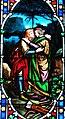 Villeréal - Église Notre-Dame - Vitrail de l'histoire de David -3.jpg