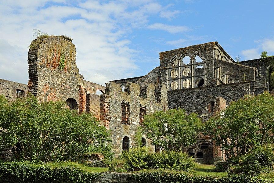 Villers-la-Ville (Belgium): ruins of Villers abbey