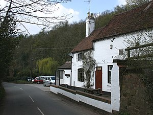 Clent Hills - The Vine Inn, originally a water mill