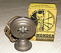 """Vintage Little Wonder Microphone, Attach It To Your Radio, """"Latest Radio Sensation, Broadcast Over Your Own Radio, Talk-Sing-Play, Impersonate Your Radio Favorites"""", Circa 1930s (9758965504).jpg"""
