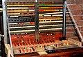 Vintage telephone switchboard (49467795397).jpg