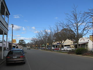 Violet Town Town in Victoria, Australia