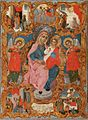 Virgin Mary on the throne Apostolis Longianos.jpg