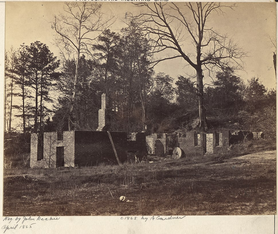Virginia, Gaines' Mill, Ruins of - NARA - 533366