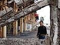 Visitor (Griselda Ramirez) with Derelict Plant - Santa Rosalia - Baja California Sur - Mexico (23777869420).jpg