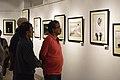 Visitors - Group Exhibition - PAD - Kolkata 2016-07-29 5486.JPG