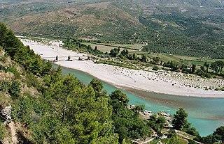 Aoös river