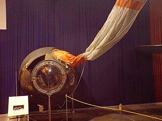 Vladimír Remek - Module used by Remek to return to Earth