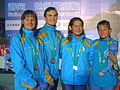 WDSC2007 Day1 Awards Women800FreestyleRelay Bronze.jpg