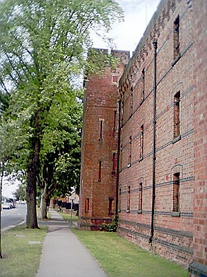Imphal Barracks - The walls of Imphal Barracks