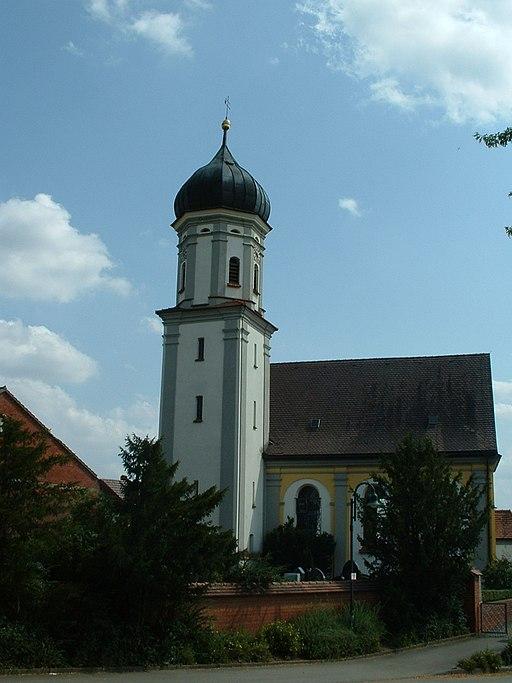 Walpertshofen parish church St Pantaleon
