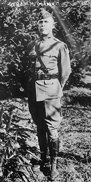 Walter Henry Gordon - Walter Henry Gordon in 1919