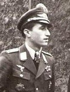 Walter Nowotny Austrian born German officer and fighter pilot during World War II