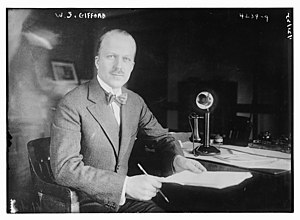 AT&T Corporation - Image: Walter Sherman Gifford in 1925