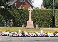 War memorial at Crowton, Cheshire - geograph.org.uk - 211419.jpg