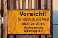 Warnschild Reflektormast Ravensburg 22092013.JPG