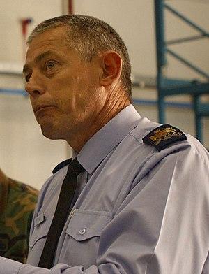 Lyndsay Morgan - Morgan visiting RAF Mildenhall in 2007
