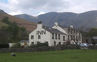 Wasdale Head - Wasdale Head Inn, famous as the centre of the birth of British rock climbing