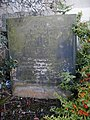 Watchmaker's gravestone at Bolsover Parish Church - geograph.org.uk - 1345103.jpg