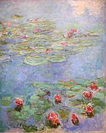 Water Lilies by Claude Monet, California Palace of the Legion of Honor 1973.3.JPG