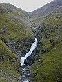 Waterfall on the Allt Grannda - geograph.org.uk - 1801713.jpg